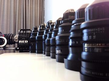 Rent: RED DRAGON 6K with Free Lenses - Production Ready!