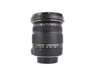 Rent: Sigma 17-50mm f/2.8 EX DC OS HSM, Nikon Fit
