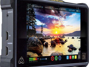 Rent: Atomos Inferno 7-in 4K Recorder with 2x 512GB SSD