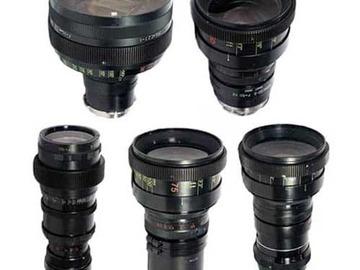 Rent: Lomo Anamorphic 5x Lens Set