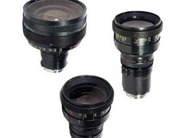Rent: Lomo Anamorphic 3x Lens Set