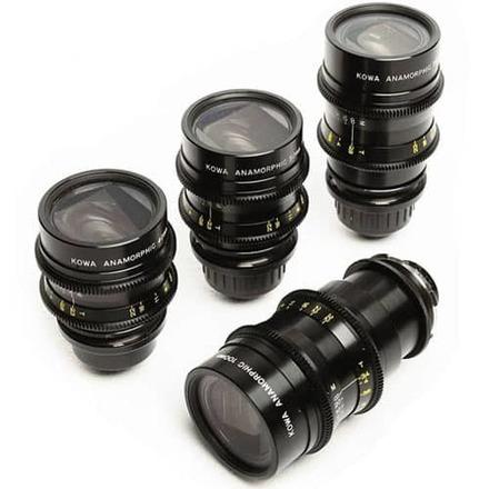 Kowa Anamorphic 4x Lens Set
