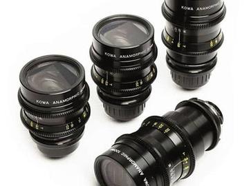 Rent: Kowa Anamorphic 4x Lens Set