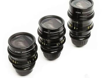Rent: Kowa  Kowa Anamorphic 3x Lens Set