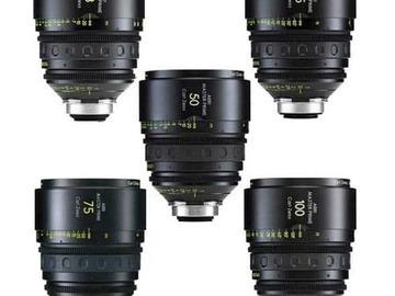 Rent: ARRI Master Prime 5x Lens Set