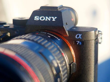 Rent: Sony Alpha a7S II Package with Lens (Canon EF 24-105)