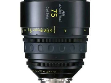 Rent:  Arri Master Prime 75mm T1.3