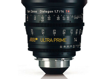Rent:  Arri Ultra Prime 14mm T1.9