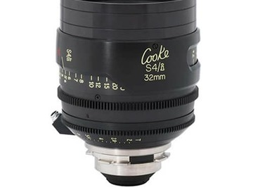 Rent:  Cooke S4/i 32mm T2