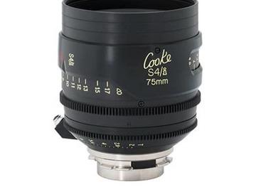 Rent: Cooke S4/i 75mm T2