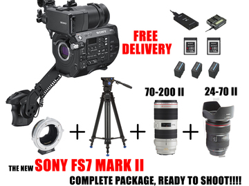 Rent: READY COMPLETE Sony PXW-FS7 MII XDCAM Super 35 Camera