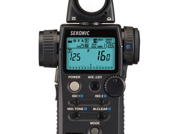 Rent: SEKONIC  MANUAL LIGHT MEATER