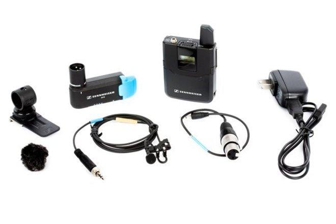 Sennheiser AVX Camera-Mountable Lavalier Wireless Set (MKE2)