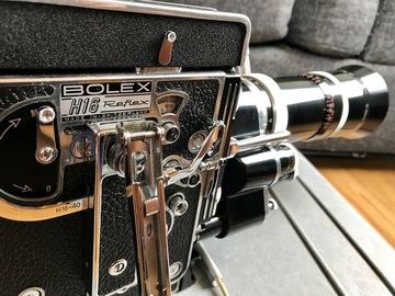 Rent: Bolex H16 Reflex 16mm Film Camera & Vario Switar Zoom Lens