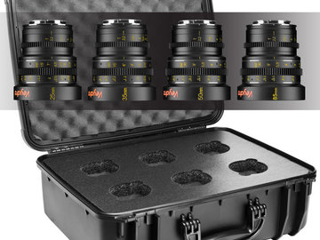 Rent: Veydra Mini Primes 6 Lens Set E Mount