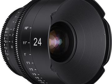 Rent: XEEN 24mm, 50mm, 85mm T1.5 Lens Kit