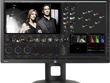 Rent: HP Dreamcolor Z27 x 27 16:9 LCD Coloring/Directors Monitor