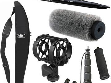 Sennheiser MKH 416 Audio Kit with Mixer and Recorder