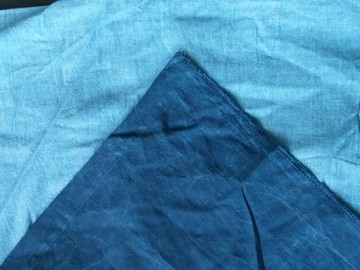 Rent: Muslin Blue Wash 10' x 24' Backdrop