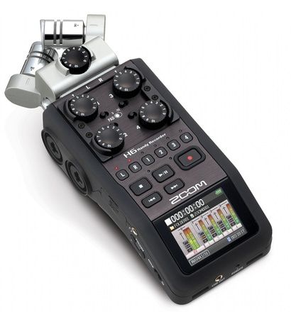 Zoom H6 Audio Package With Rode NTG2 + Audio Technica