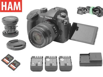 Rent: Panasonic Lumix GH5 V-Log | 12-35mm f/2.8 II | SLR Magic 8mm