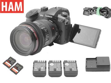 Rent: Panasonic Lumix GH5 V-Log | Canon 24-105mm F4 | Speedbooster