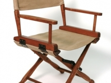 Rent:  2 Short Director's Chairs