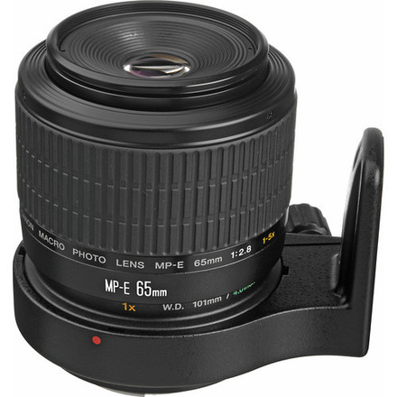 Canon MP-E 65mm ultra macro 1-5X lens