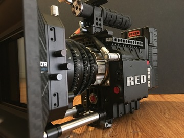 Rent: RED Epic M-X 5K W/ RED 18-50mm Zoom