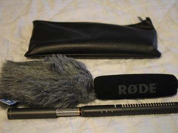 Rent: Rode NTG-2 Condenser Shotgun Microphone