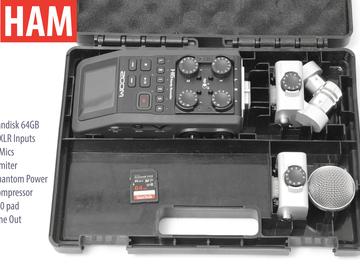 Rent: Zoom H6 Portable Audio Sound Recorder | 64GB Sandisk Extreme