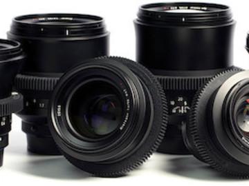 Rent: Zeiss Milvus Lens NIKON F MOUNT Set (15/21/35/50/85/100 mm)