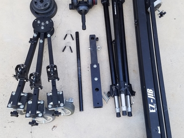 Rent: EZ FX  - EZ Jib 12' With Caster wheels