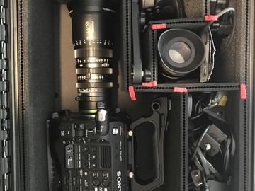Sony PXW-FS7mk II Full Docu Package