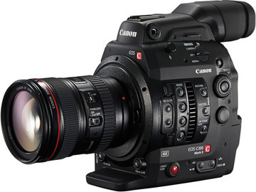 Rent: Canon C300 Mark II kit w/ 24-105mm lens & Zacuto rig