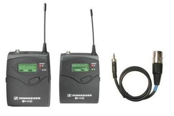 Sennheiser ew 100 ENG G2 Wireless Kit w/ Tram TR-50 Mic