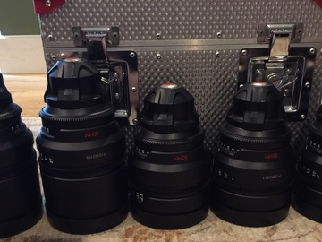 Rent: Red Pro Prime Cinema Lenses