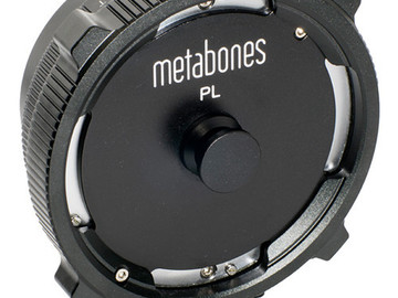 Rent: Metabones PL to E-Mount Adapter (3x available)