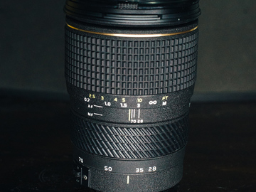 Rent: Tokina 28-70mm T2.5