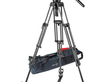 Rent: Sachtler Video 18 S2 Fluid Head & ENG 2 CF Tripod System