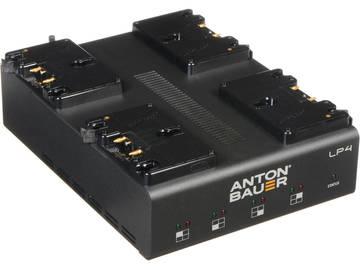 Rent: Anton Bauer Power Charger Quad LP4 Gold Mount