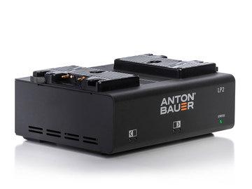 Rent: Anton Bauer Power Charger Dual LP2 Gold Mount