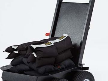 Rent: Backstage Cable/Sand Bag Mini Cart