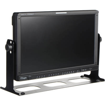 """TVLogic LVM-170A 17""""HD Monitor, Open Face Case, Support"""