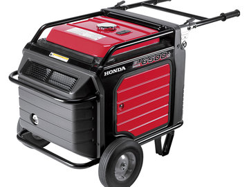 Honda, EU 6500  Generator - With 60AMP Conversion and Cage