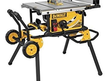Rent: Dewalt Table Saw