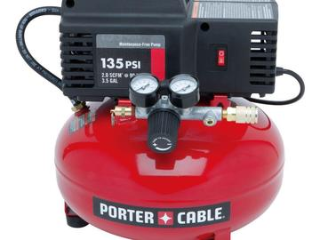 Rent: Porter Cable Compressor