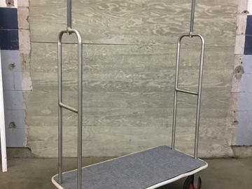 Rent:  Wardrobe and/or gear/grip cart/bellman cart