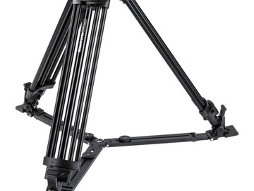 Rent: Manfrotto 503 Fluid Head with Sticks and Spreaders