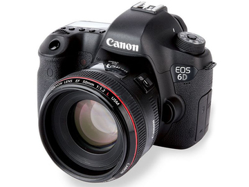 Rent: Canon 6D + 50mm f1.2 L USM Lens Package